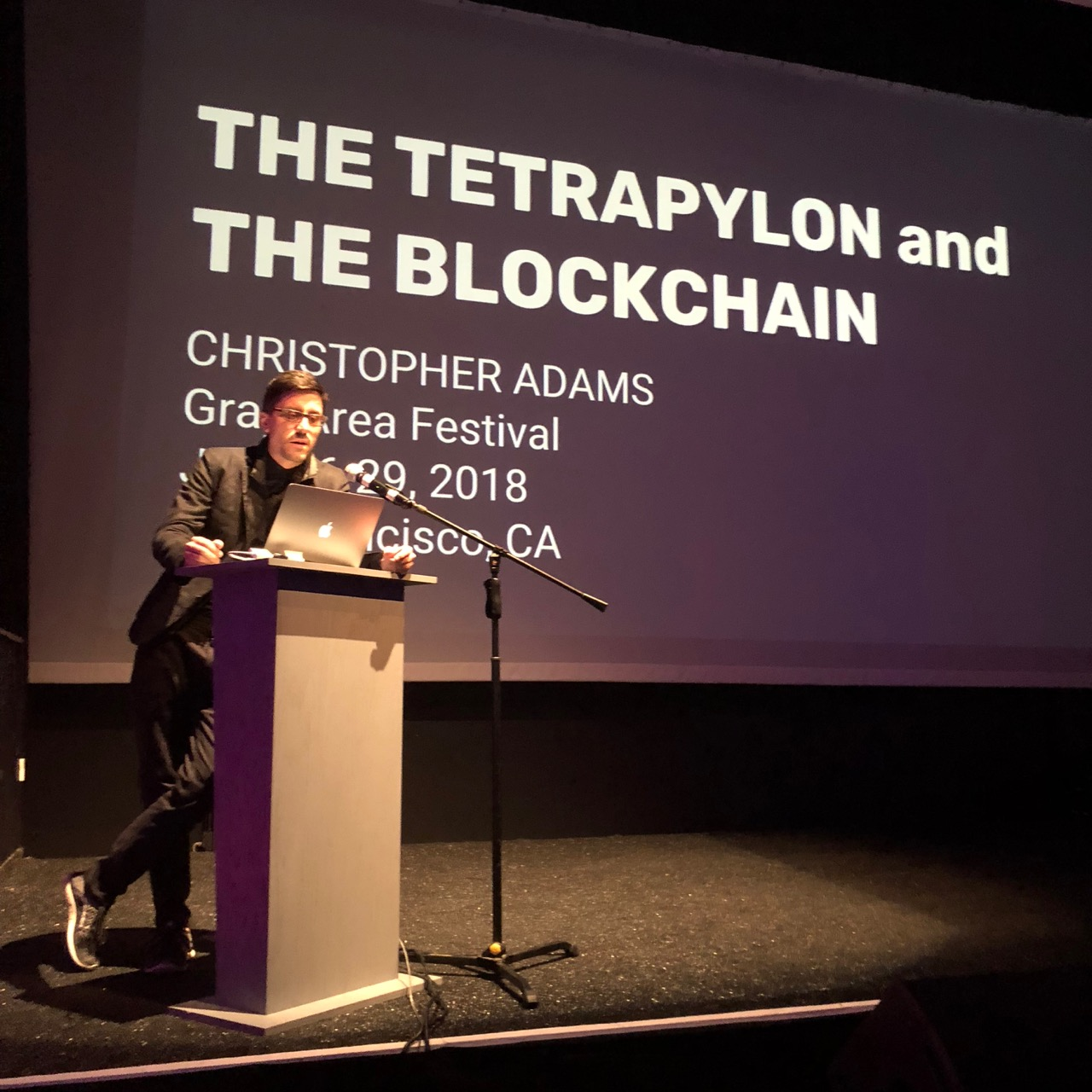 The Tetrapylon and the Blockchain by Christopher Adams